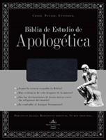 Biblia Estudio Apologética Imitación Piel Negra