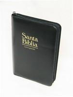 Biblia Letra Grande con cierre Negro