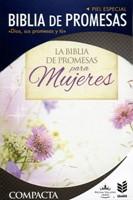 Biblia de Promesas Compacta Flores