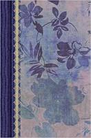 Biblia de Estudio Mujeres Azul Floreado (Tapa Suave) [Biblia]