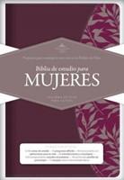 Biblia Estudio Para Mujeres Fucsia/Vino
