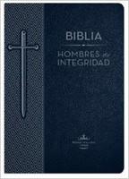 Biblia Hombres de Integridad Piel Azul