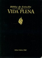 Biblia Vida Plena Imitación Piel Negro