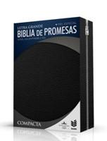 Biblia Edición Promesas Compacta Negro con Cierre