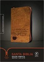 Biblia Compacta NTV con Cierre Café