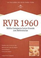 Biblia Letra Grande Compacta Damasco Coral