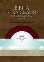 Biblia Letra Grande Imitación Piel Borgoña