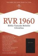 Biblia Ultrafina Imitación Piel Negro