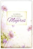 Biblia de Promesas con cierre e Índice Floral