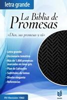Biblia de Promesas con cierre e Índice Negro