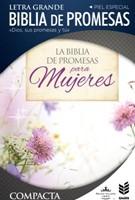 Biblia de Promesas Compacta Cierre Floral