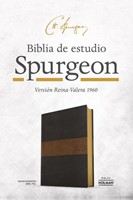 Biblia de Estudio Spurgeon Simil Piel (Tapa Suave)