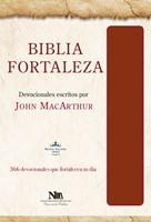 Biblia Devocional Fortaleza Marrón