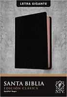 Biblia NTV Letra Gigante Negro