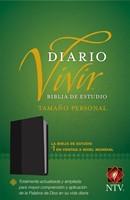 Biblia NTV de Estudio Diario Vivir Negro