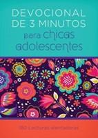 Devocional en 3 Minuto para Chicas Adolescentes (Tapa Rústica)