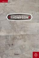 Biblia de Referencia Thompson TD Rojo Oscuro