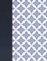 Biblia de Apuntes NVI - Simil piel Blanco y Azul