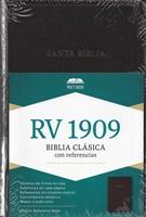 Biblia RV1909 Imitación Piel Negro