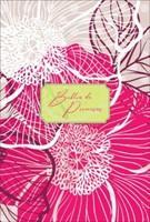 Biblia de Promesas Letra Grande Piel Especial Floral Moderno