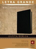 Biblia NTV UltraFina Letra Grande Imitación Piel Negro