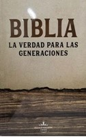 Biblia Verdad para las Generaciones RVR60 Letra Grande  Marron