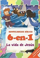 Vida de Jesús Biblia de Rompecabezas
