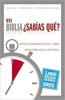 Biblia NVI Sabias Qué? 1000 Hechos acerca de Dios