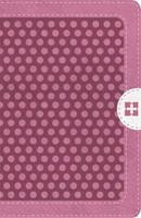 Biblia NVI Compacta con Cierre Rosa
