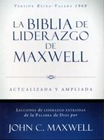 Biblia del Liderazgo Maxwell RVR 60 Piel Marron