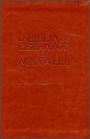 Biblia NVI del Liderazgo Maxwell Actualizada Piel
