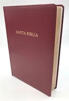 Biblia Letra Super Gigante Imitación Piel Bordo