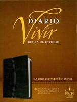 Biblia Estudio Diario Vivir RVR60 Piel Negro