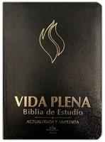 Biblia Vida Plena RVR60 Actualizada y Ampliada Cuero Negro