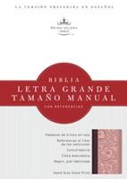 Biblia Letra Grande Imit. Piel Rosado/Borravino