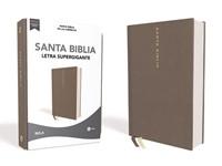 Biblia Nueva Biblia de las Américas Letra Súper Gigante Gris