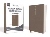 Biblia Nueva Biblia de las Américas Letra Grande Gris