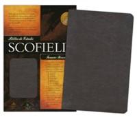 Biblia de Estudio Scofield Piel Marron