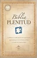 Biblia de Estudio Plenitud Tapa Dura con Índice