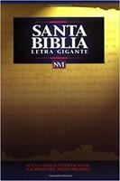 Biblia NVI Letra Gigante Imitación Piel Negro