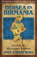 Odisea en Birmania - Adoniram Hudson (Tapa Rústica) [Libro]