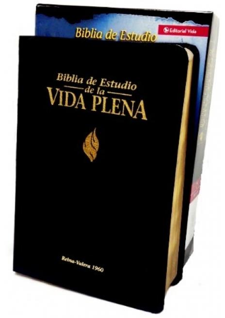 Biblia Estudio Vida Plena Piel Especial