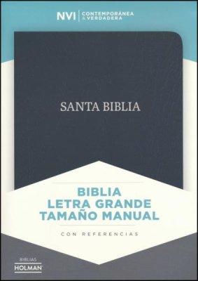 Biblia NVI Manual Letra Grande Negro