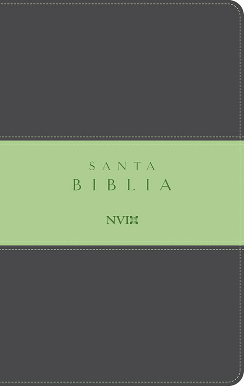 Biblia NVI Dos Tonos Gris/Verde