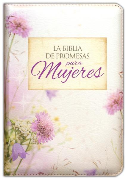 Biblia de Promesas Compacta Cierre e Índice Floral