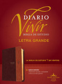 Biblia Diario Vivir RVR Letra Grande Cafe