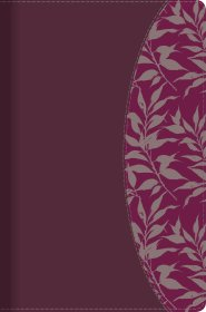 Biblia de Estudio para Mujeres Símil Piel Vino y Fucsia con Índice