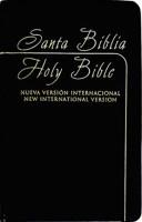 Biblia bilingüe NVI / NIV Imitación Piel Negro