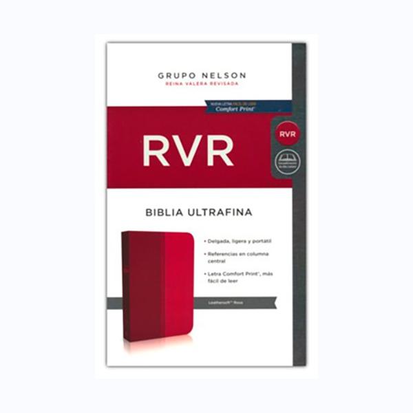 Biblia RVR Ultrafina Rosa