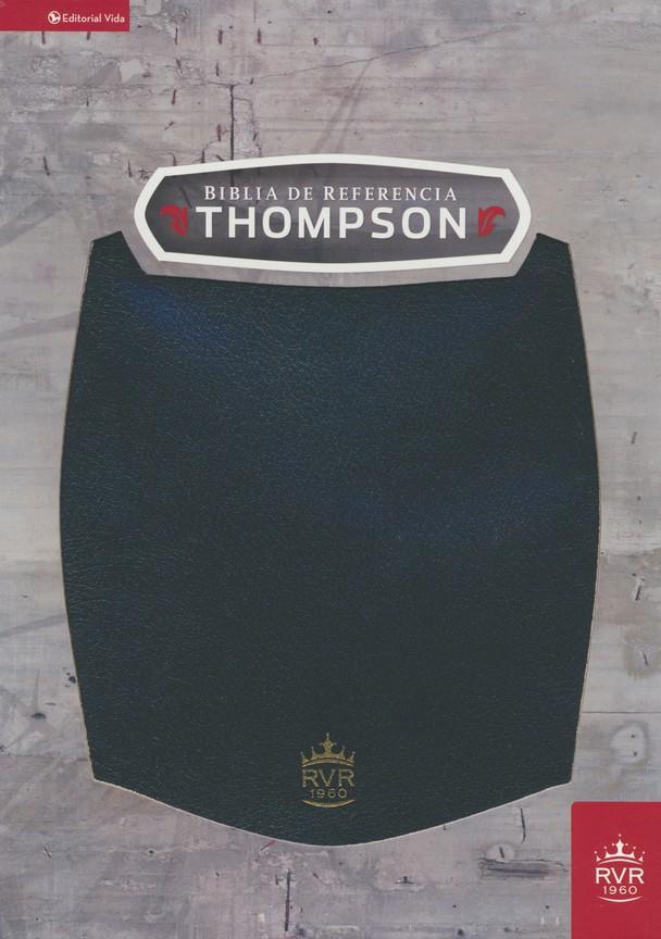 RVR60 Biblia Thompson Símil Piel Negro